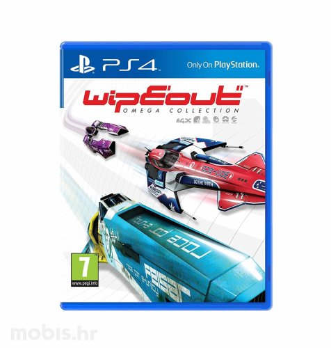 Wipeout Omega Collection igra za PS4