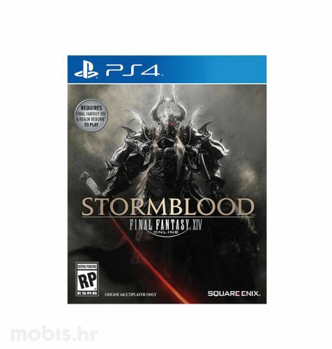 Final Fantasy XIV Stormblood Expansion igra za PS4