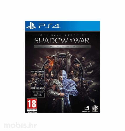 "Middle Earth ""Shadow of War"" Silver Edition igra za Xbox One"