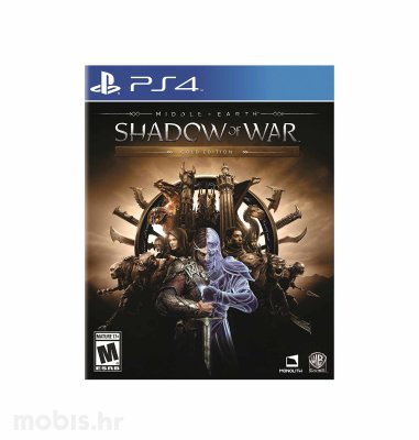 "Middle Earth ""Shadow of War"" Gold Edition igra za PS4"