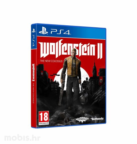 "Wolfenstein 2 ""The New Colossus"" igra za PS4"