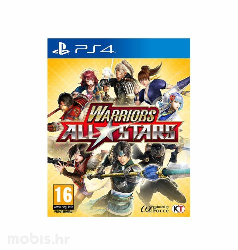 Warrior All Stars igra za PS4
