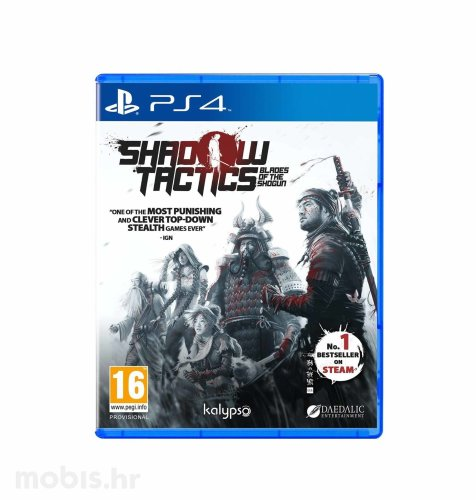"Shadow Tactics ""Blades of the Shogun"" igra za PS4"
