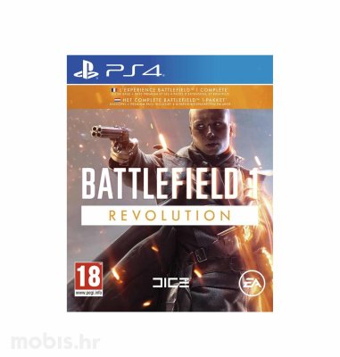 "Battlefield 1 ""Revolution"" Edition igra za PS4"