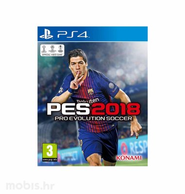 PES 2018 - Pro Evolution Soccer 2018 Standard Edition igra za PS4