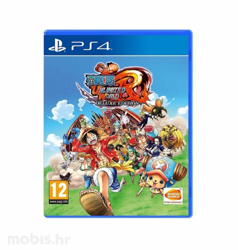 One Piece Unlimited World Red DLE igra za PS4