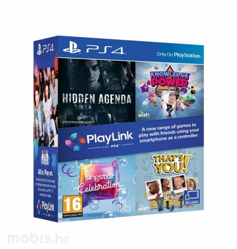 "Komplet igara ""Hidden Agenda/Knowledge is Power/Singstar/That's You"" za PS4"