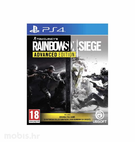 "Tom Clancy's Rainbow Six ""Siege"" Advanced Edition igra za PS4"