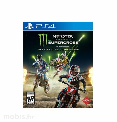Monster Energy Supercross igra za PS4