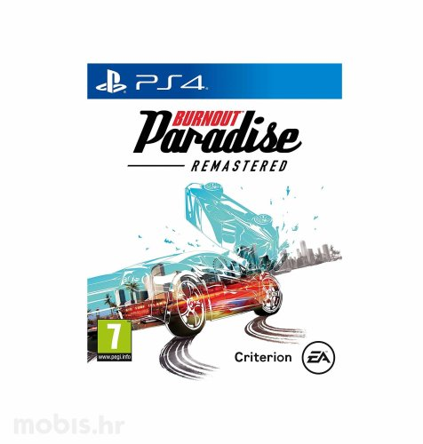 Burnout Paradise Remastered igra za PS4