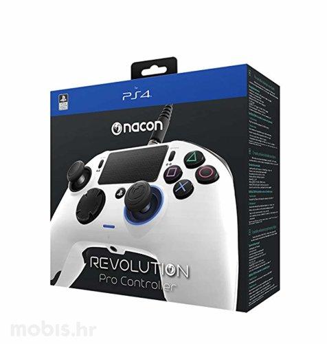 Nacon Revolution Controller Pro za PS4: bijeli