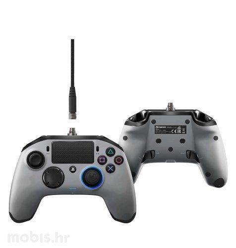 Nacon Revolution Controller Pro za PS4: srebrni