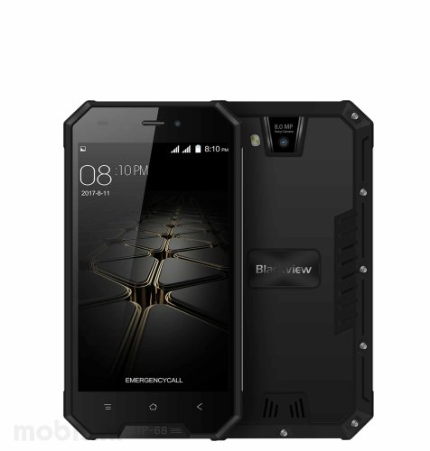 Blackview BV4000 Pro Dual SIM: crni