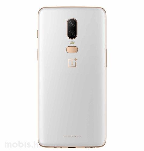 OnePlus 6 128GB Dual SIM: bijeli