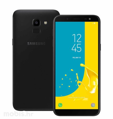 Samsung Galaxy J6 2018 Dual SIM (J600): crni
