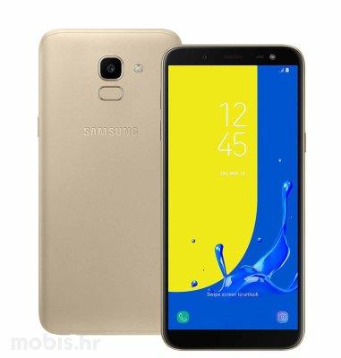 Samsung Galaxy J6 2018 Dual SIM (J600): zlatni
