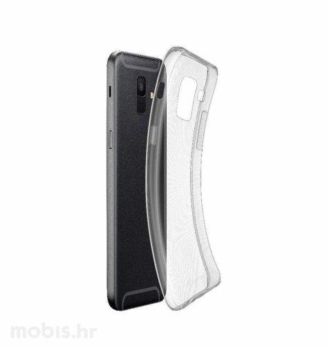 Silikonska zaštita za Samsung Galaxy A6 2018: prozirna