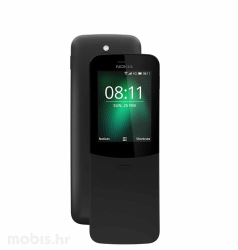 Nokia 8110 Dual SIM: crna