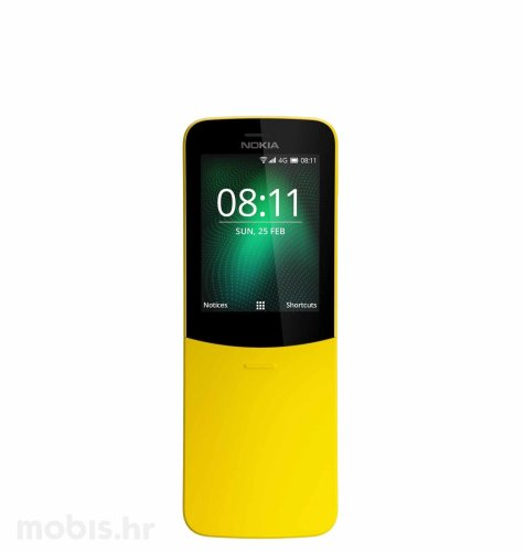 Nokia 8110 Dual SIM: žuta