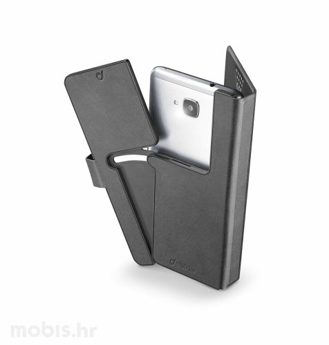 Torbica Uni Book Slide & Snap  XXL: crna