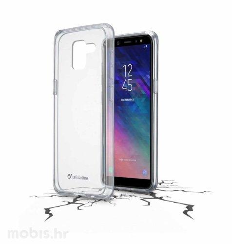 Plastična zaštita za Samsung Galaxy A6 2018: prozirna