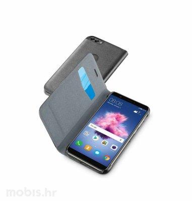 Cellular line preklopna kožna maskica za Huawei P Smart: crna