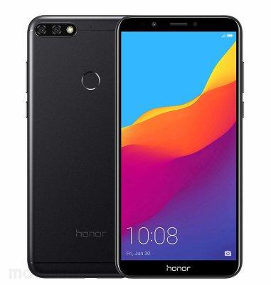 Honor 7C Dual SIM: crni