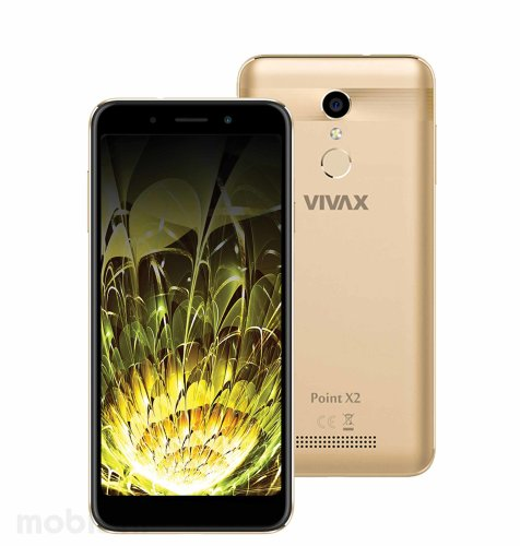 Vivax Point X2: zlatni