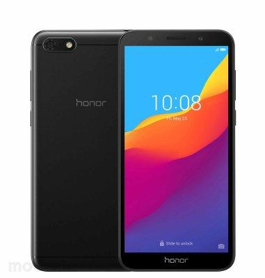 Honor 7S Dual SIM: crna