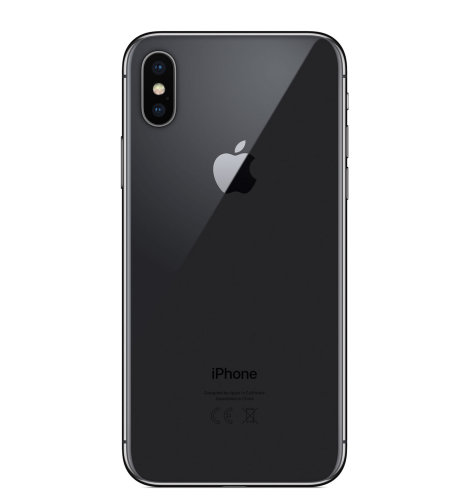 Apple iPhone X 256GB: sivi