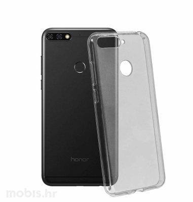 Silikonska maska za Huawei Y7 Prime 2018: prozirna