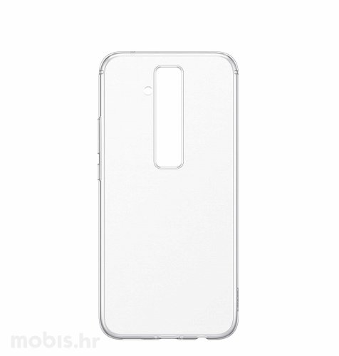 Silikonska maska za Huawei Mate 20 lite: prozirna