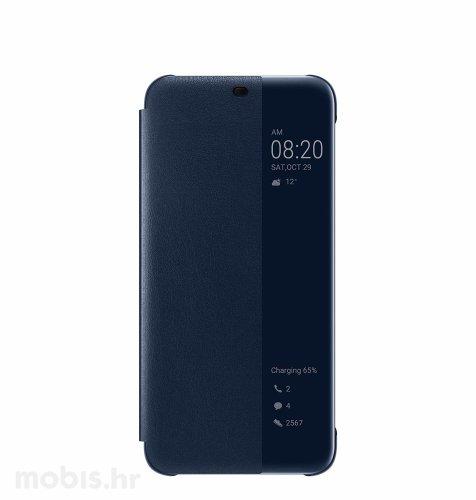 Preklopna maska za Huawei Mate 20 lite: plava