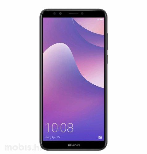 Huawei Y7 Prime 2018 Dual SIM: crni