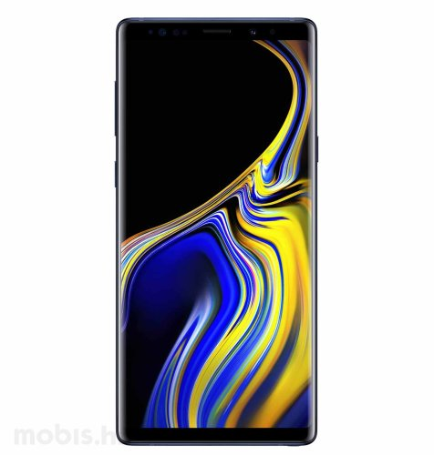 Samsung Galaxy Note9: plava