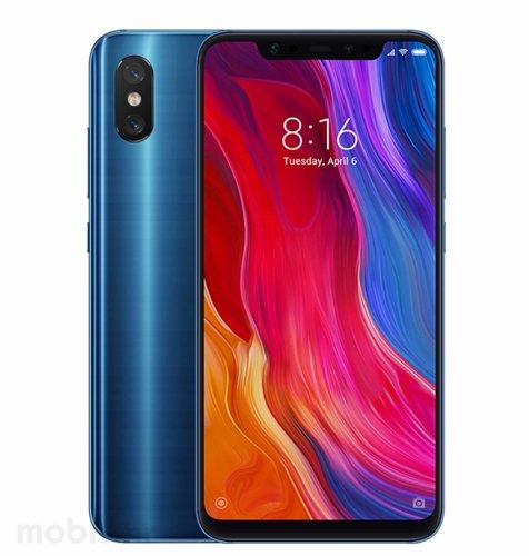 Xiaomi Mi 8 6GB/64GB Dual SIM: plavi