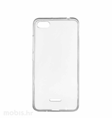 Silikonska zaštita za Xiaomi Redmi 6a: prozirna