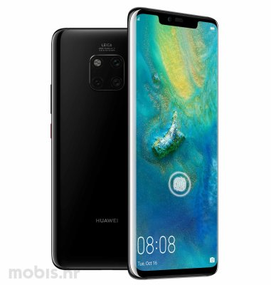 Huawei Mate 20 Pro: crni