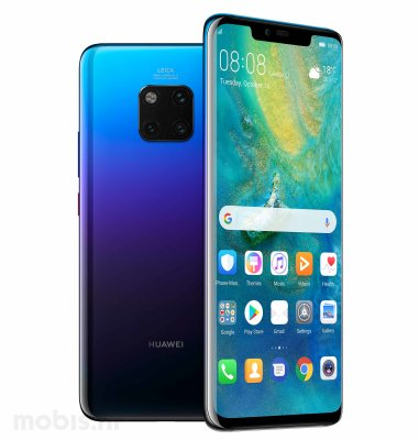 Huawei Mate 20 Pro: ljubičasti