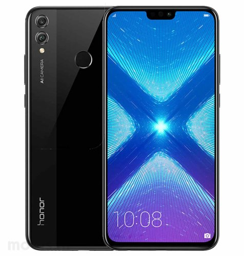 Honor 8X 64GB Dual SIM: crni