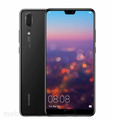 OUTLET: Huawei P20: crni