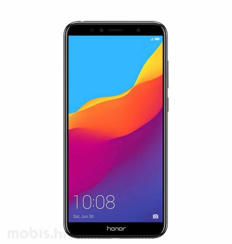 Honor 7A 16GB Dual SIM: crni