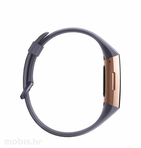 Fitbit Charge 3: rozo plava