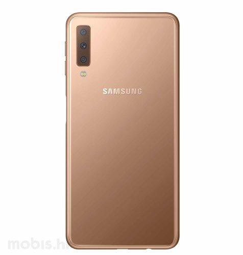 Samsung Galaxy A7 Dual SIM (2018): zlatni