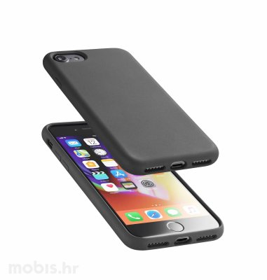 Silikonska maskica za Apple iPhone 7/8: crna