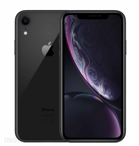 Apple iPhone XR 64GB: crni