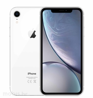 Apple iPhone XR 64GB: bijeli