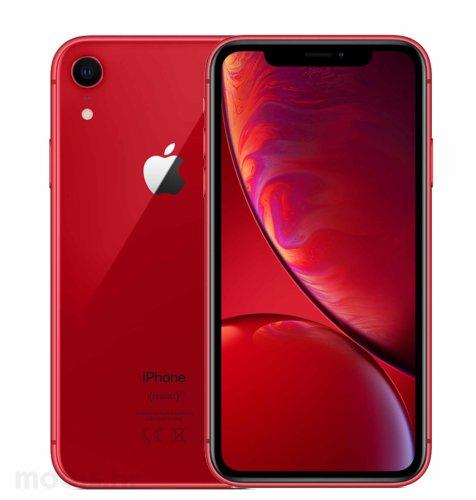 Apple iPhone XR 256GB: crveni