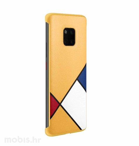 Silikonska maskica za Huawei Mate 20 Pro: žuta s motivom