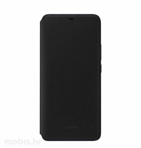 Preklopna maskica za Huawei Mate 20 Pro: crna